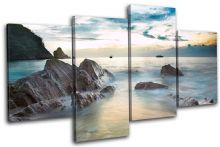 Beach Sunset Seascape - 13-1161(00B)-MP04-LO